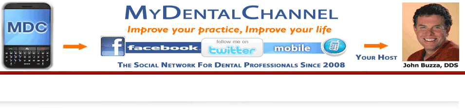 mydentalchannel logo and social media presence