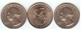 What is the relationship among these 3 coins?